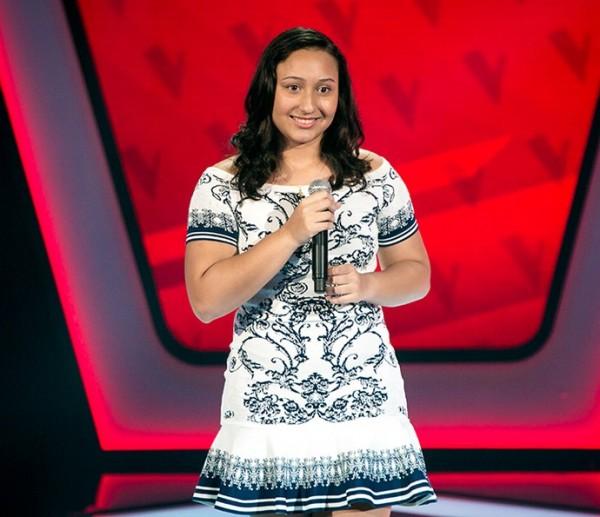A pernambucana Ally Victory participou do The Voice Kids - Crédito: Reprodução/Gshow