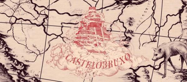 A escola Castelobruxo estaria escondida na Floresta Amazônica - Crédito: Reprodução