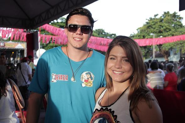 Eduína e Paulo Neves. Crédito: Larissa Nunes / Divulgação