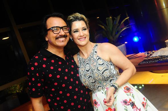 Augusto Werner e Sandra Janguiê - Crédito; Armando Artoni/Divulgação