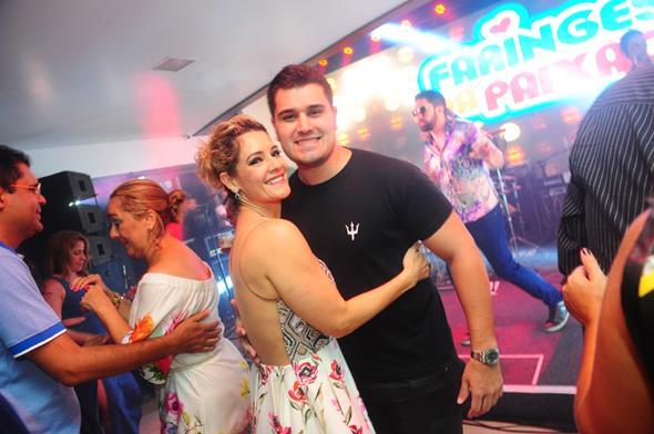 Sandra Janguiê e Thales Janguiê - Crédito: Armando Artoni/Divulgação