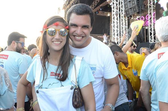 Deinha di Paula e Marcus Travassos - Crédito: Roberta Pontual/Comunnik/Divulgação