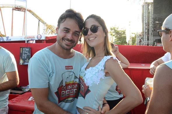 Yuri Fernandes e Mariana Rego - Crédito: Roberta Pontual/Comunnik/Divulgação