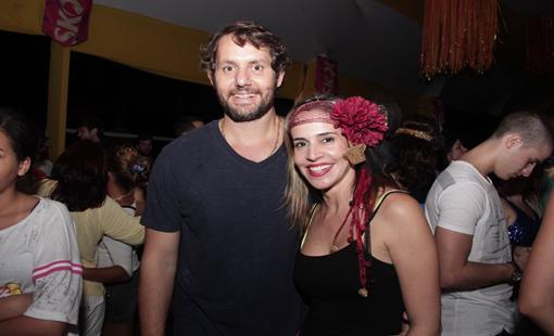 Fábio Forenzano e Isabella Roldão. Crédito: Larissa Nunes / Divulgação