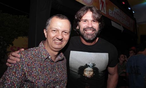 Murilo Cavalcanti e André Gimk. Crédito: Larissa Nunes / Divulgação