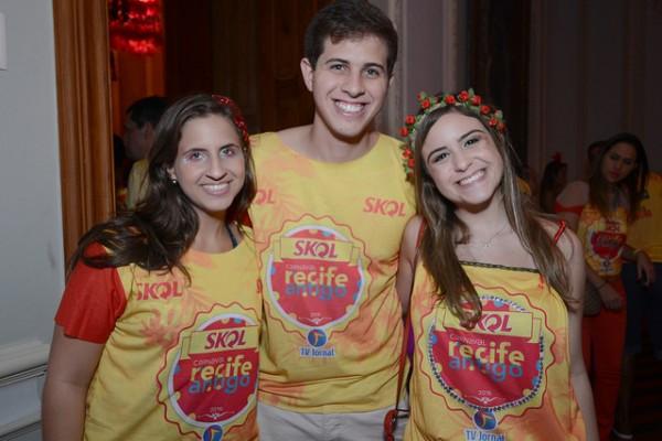 Eduarda Campos, Pedro Campos e Augusta Carneiro - Crédito: Charles Johnson e Márcio Santos/Divulgação