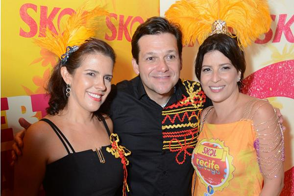Cristina Mello, Geraldo Júlio e Carla Bensoussan - Crédito: Charles Johnson e Márcio Santos/Divulgação