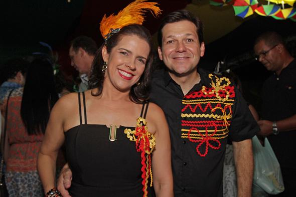 Cristina Mello e Geraldo Júlio Credito: Roberto Ramos/DP
