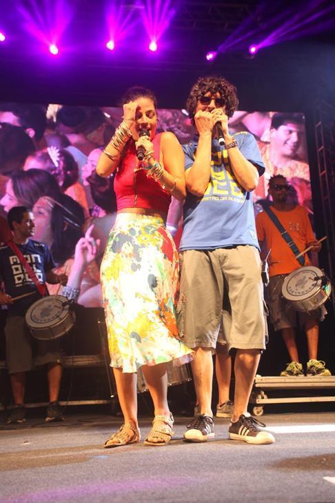 Emanuelle Araújo e Monobloco - Crédito: Vinícius  Ramos/Divulgação