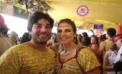 Garret e Manuella Araujo