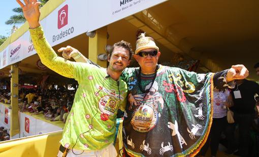 Guilherme e Romulo Menezes receberam 1500 convidados no Camarote Oficial