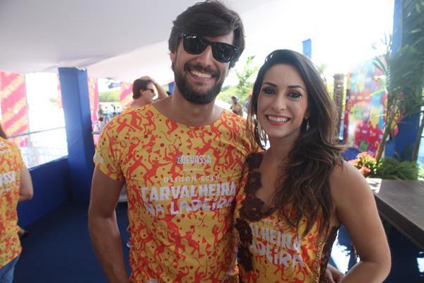 Gustavo Barbosa e Marcela Moura - Crédito: Vinícius  Ramos/Divulgação