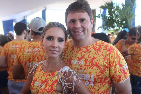 Kassia Magalhaes e Erickson Torres - Crédito: Vinícius  Ramos/Divulgação