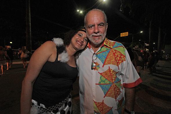 Luciana Santos e Waldemar Borges - Crédito: Roberto Ramos/DP