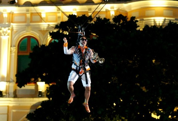 Abertura do carnaval do Recife evidenciou a cultura pernambucana no palco do Marco Zero