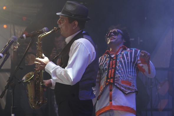 Spok e Maestro Forró - Crédito: Roberto Ramos/DP