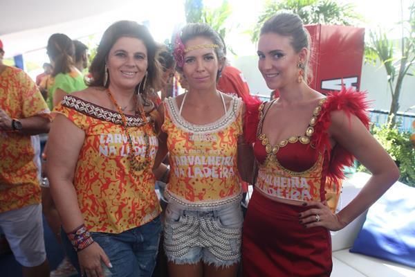 Vanessa Bellelis, Maiara Amorim e Dayane Galvão - Crédito: Vinícius  Ramos/Divulgação