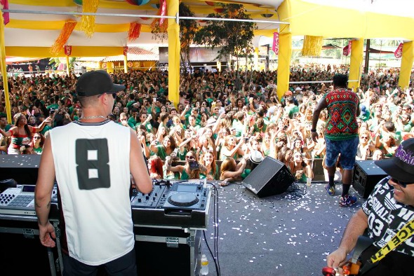Baile da Favorita e Mc Sapão. Crédito: Jonas Liberato/Divulgação