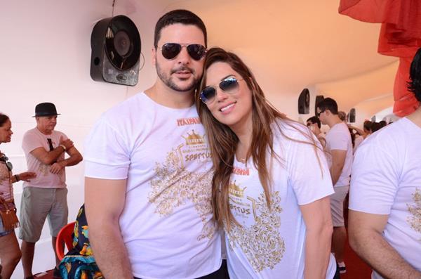 Sérgio Valença e Paloma Melo - Crédito: Roberta Pontual/Comunnik/Divulgação