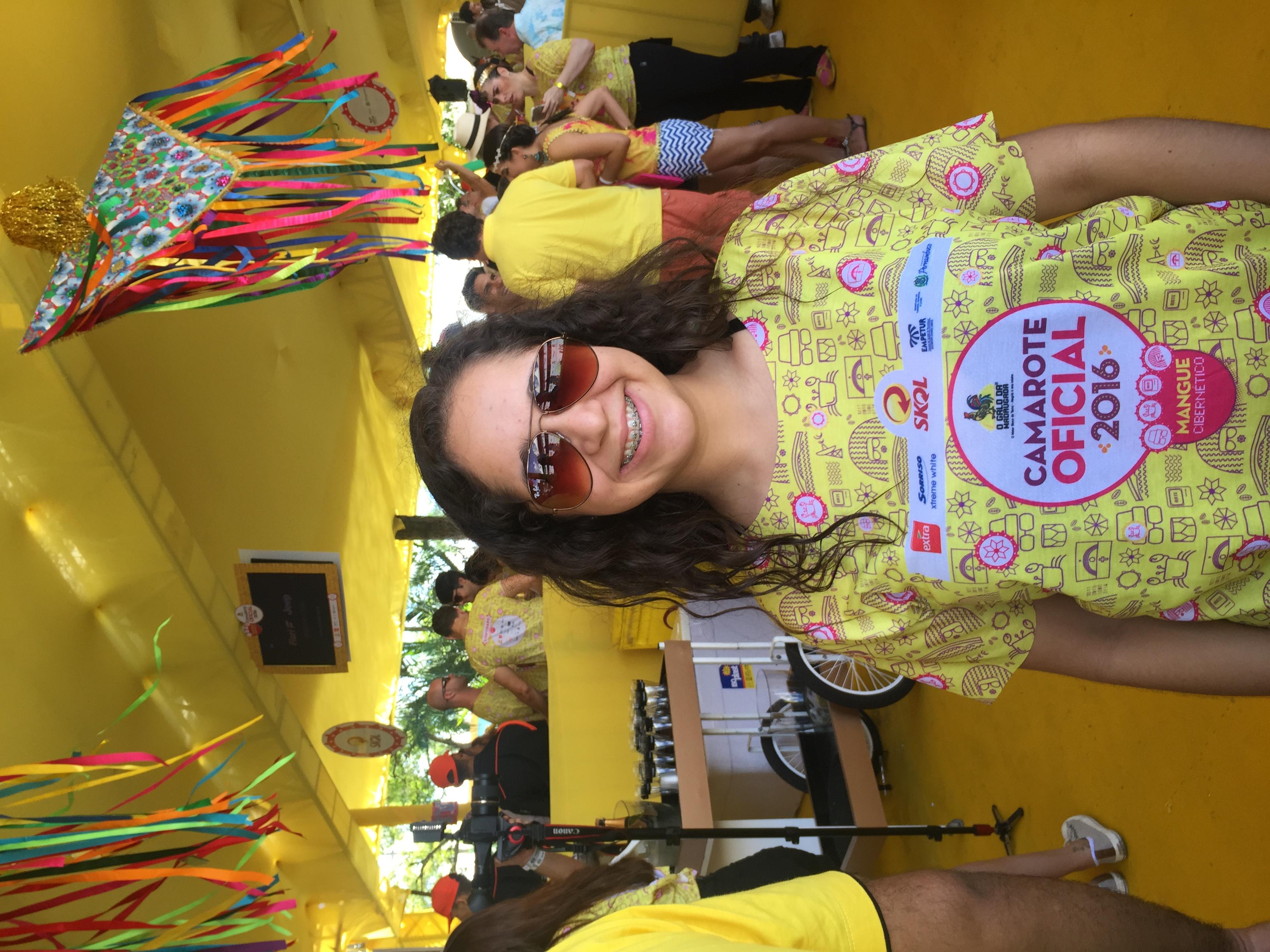 Natalia Navaez, filha da embaixadora dos Estados Unidos/JAMS