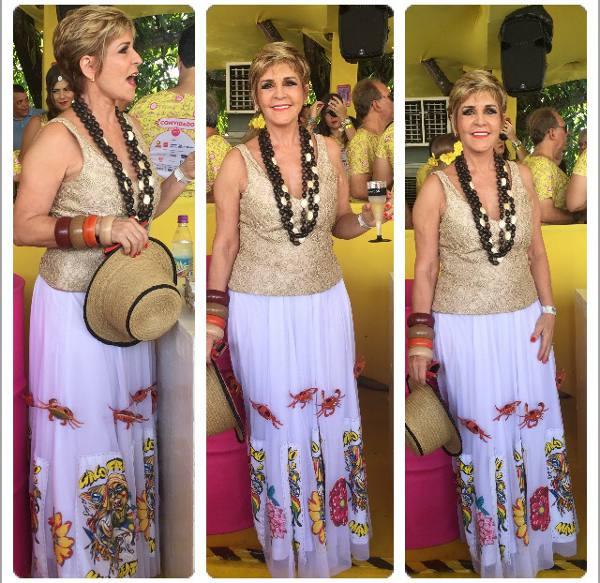 Ana Nery Menezes, a primeira-dama do Galo da Madrugada/JAMS