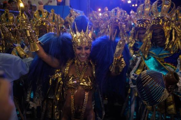 A rainha de bateria, Sabrina Sato. Crédito: Agência Brasil / Divulgação