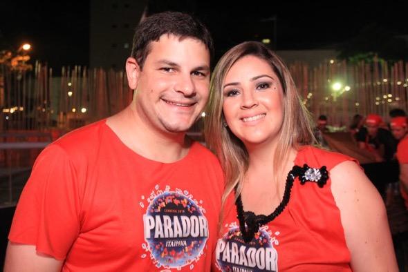 Fausto e Mabel Agra. Crédito: Luiz Fabiano / Divulgação