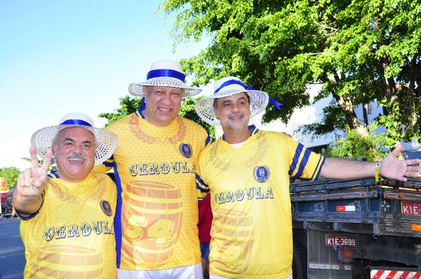 Ricardo Costa, Isaltino Bezerra e Raul Henry