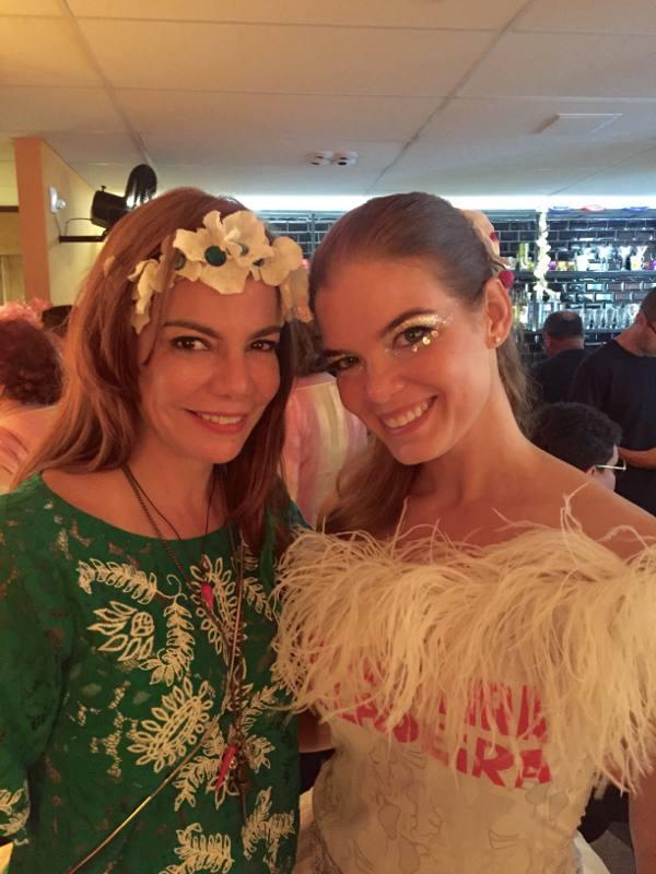 Daniela Gusmão e Juliana Lins