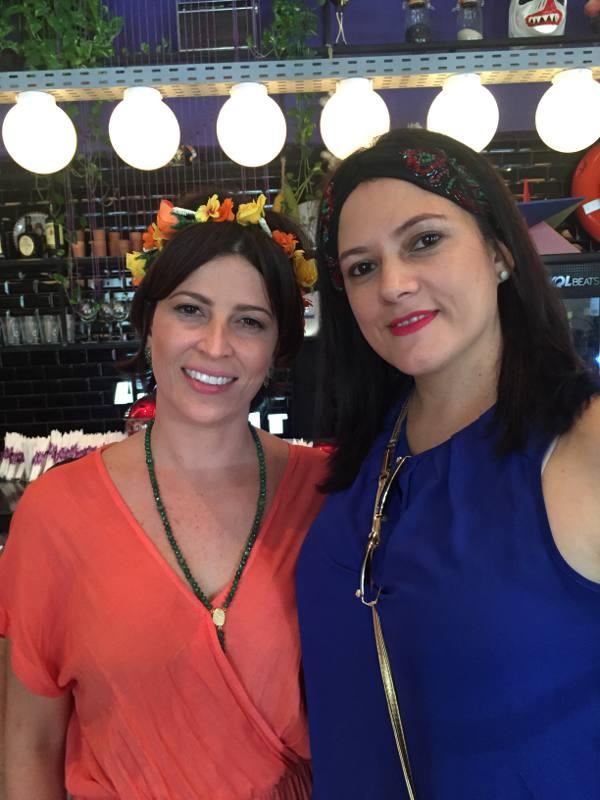 Carla Bensoussan e Adriana Ribeiro