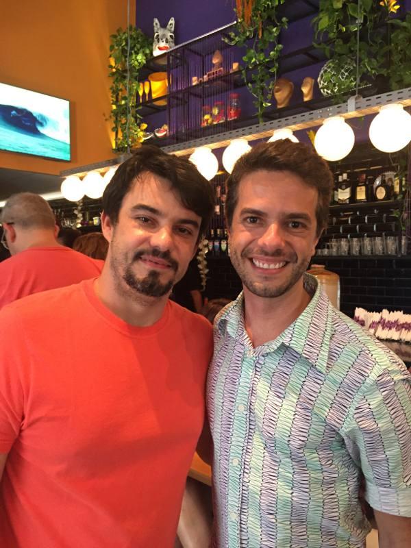 Hugo Prouvot e Flávio Marques