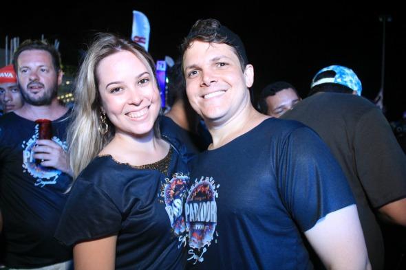 Amanda Belfort e Luciano Rego. Crédito: Luiz Fabiano/Divulgação