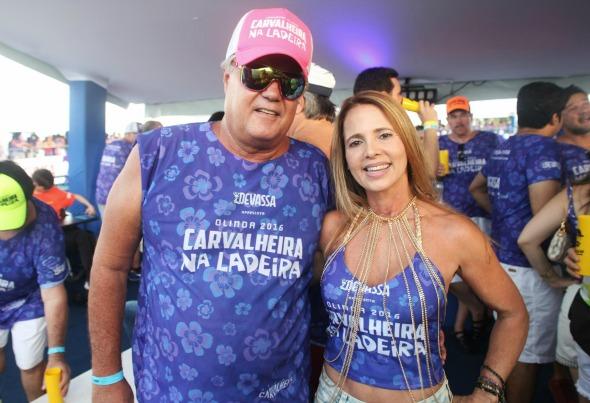 André e Virginia Campos. Crédito: Vinícius Ramos/Divulgação