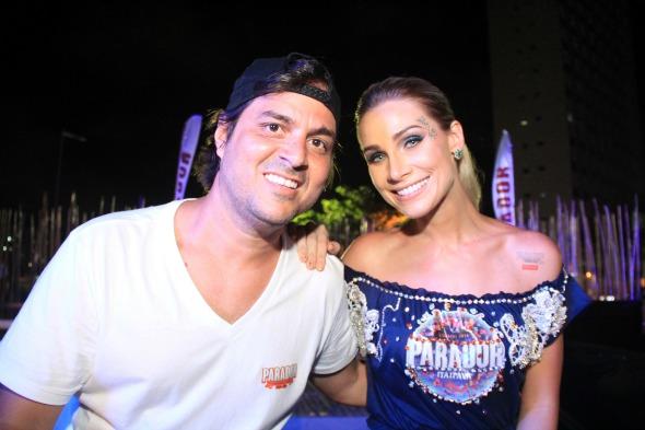 Bruno Rego e Manuca Furtado. Crédito: Luiz Fabiano/Divulgação