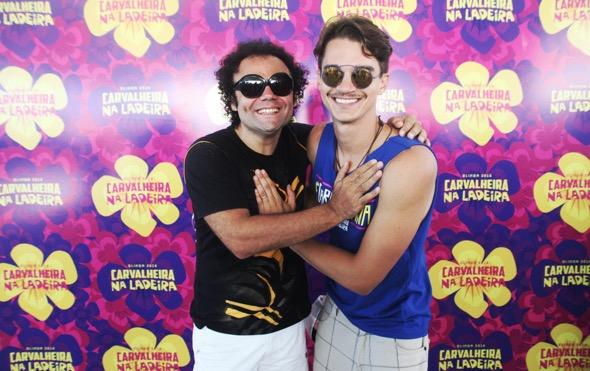 Maestro Forró e Victor Carvalheira. Crédito: Vinícius Ramos / Divulgação