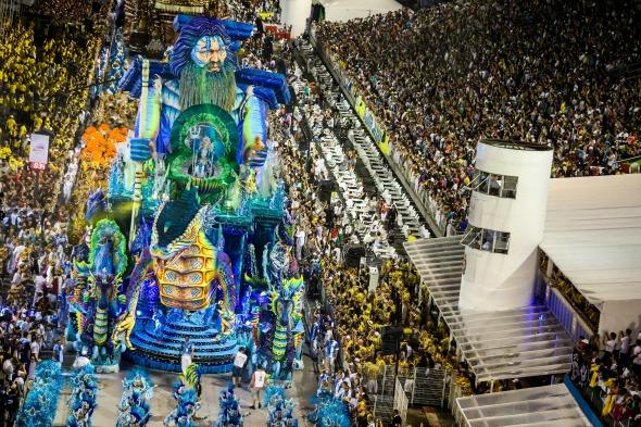 Desfile da escola Império de Casa Verde no Carnaval 2016 de São Paulo. Crédito: Rafael Neddermeyer/LIGASP/Fotos Públicas