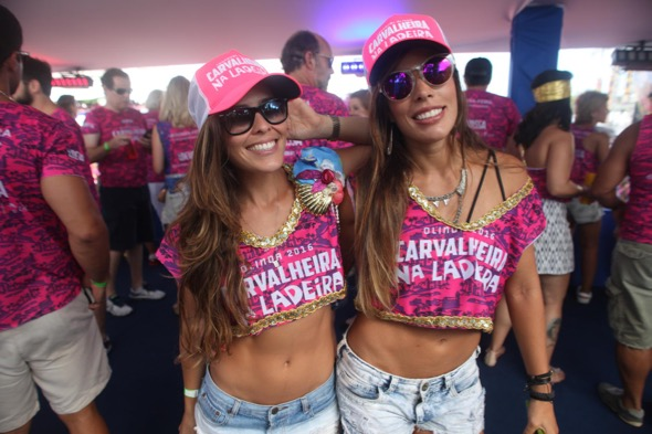 Rayana Lucena e Nina Monteiro. Crédito: Vinícius Ramos / Divulgação