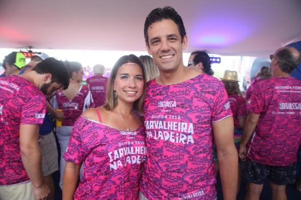 Rebeca e Daniel Coelho. Crédito: Vinícius Ramos / Divulgação