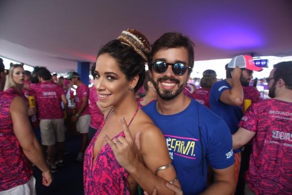Renata Barroca e Rafael Lobo. Crédito: Vinícius Ramos / Divulgação