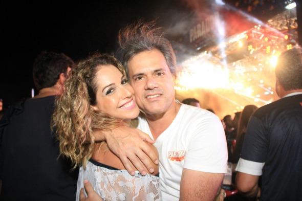 Vanessa e Sílvio Pontual. Crédito: Luiz Fabiano/Divulgação