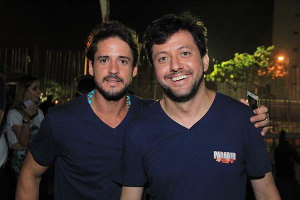 Guilherme Menezes e Gustavo Satou Crédito: Luiz Fabiano/Comunnik/Divulgação