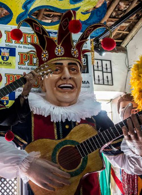Boneco gigante de Getúlio Cavalcanti/Divulgação