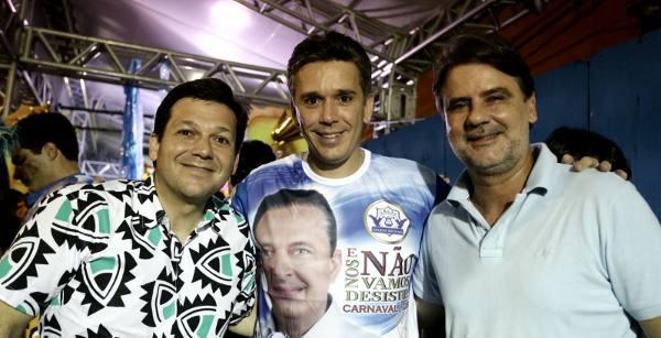 Geraldo Julio, Felipe Carreras e Raul Henry/Divulgação