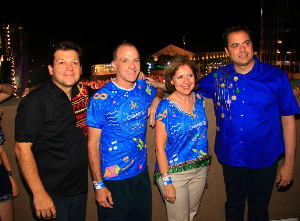 Geraldo Julio, Richard Reiter, embaixadora Liliana Ayalde e Paulo Câmara  Crédito Roberto Pereira