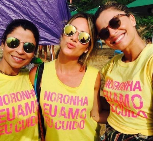 Anna Lima, Giovanna Ewbank e Grazi Massafera/Foto de Ana Clara Marinho