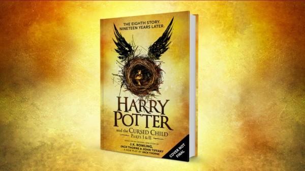 """A capa provisória do novo livro anuncia """"A 8ª história. Dezenove anos depois"""". - Crédito: Reprodução/Pottermore"""