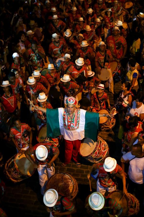 O Maracatu Nação Porto Rico levou o prêmio do carnaval de 2016 - Crédito: Divulgação