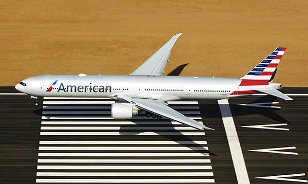 Avião da American Airlines/Divulgação