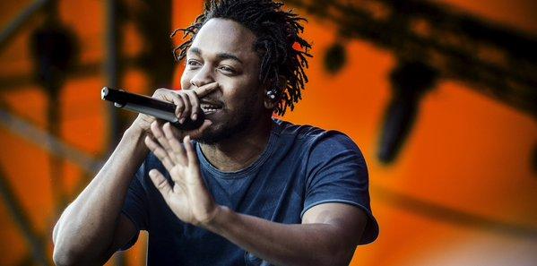 O rapper Kendrick Lamar lidera as indicações do Grammy - Crédito; Reprodução/Twitter