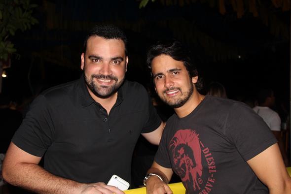 Chico Accioly e Paulo Labanca Crédito: Paulo Victor Moura/Divulgação